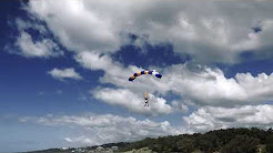 Skydiving transfers at Sunshine Coast, Queensland-Australia